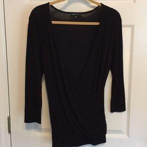 BCBG Maxazria Black Sweater